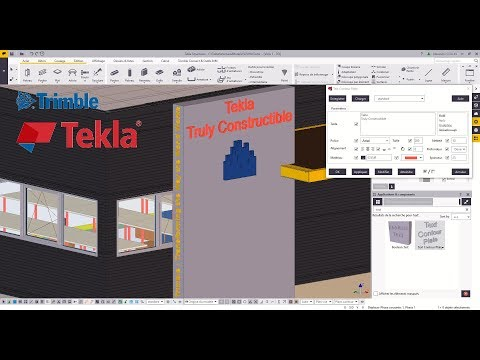 Text Plugins | Tekla Warehouse