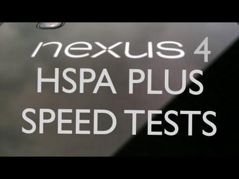 LG Google Nexus 4 HSPA Plus Speed Tests (T-Mobile USA)