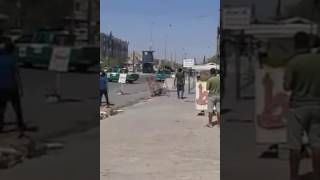 عاجل وحصري :- تفكيك سيارة مفخخة في حي الجهاد مقابل مطعم ريلاكس والقبض على راكبها 20/9/2016