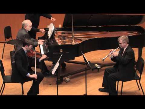 Trio for Trumpet, Violin, and Piano, by Eric Ewazen