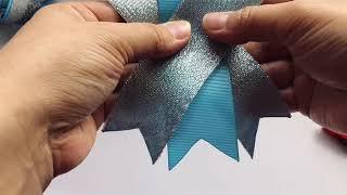 Фото Большой бант из репсовой ленты 4 см Big Bow From Rep Ribbon 4 Cm