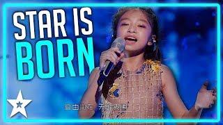 Celine Tam Storms The Stage on Worlds Got Talent 2019   Kids Got Talent
