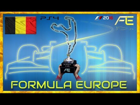 Formula Europe #FECL 2017 - 06 Belgian GP SPA (F1 2016) 13.07.17 - Live Streaming 1080p HD