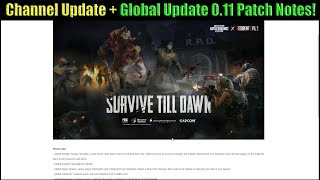 Channel Update + PUBG Mobile 0.11 Global Update with ZOMBIES is HERE - Patch Notes with DerekG