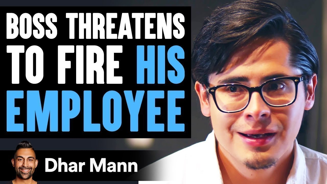Download Boss Threatens To Fire Employee, What Employee Does Is Shocking | Dhar Mann