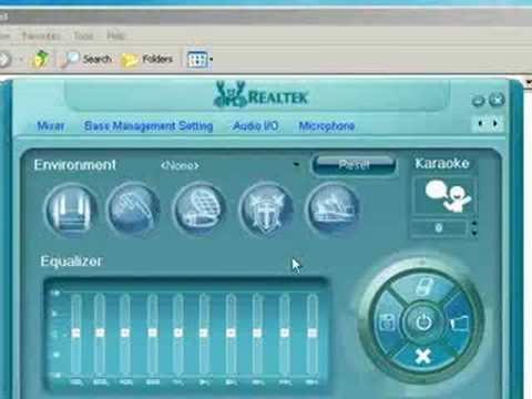 disable realtek audio manager
