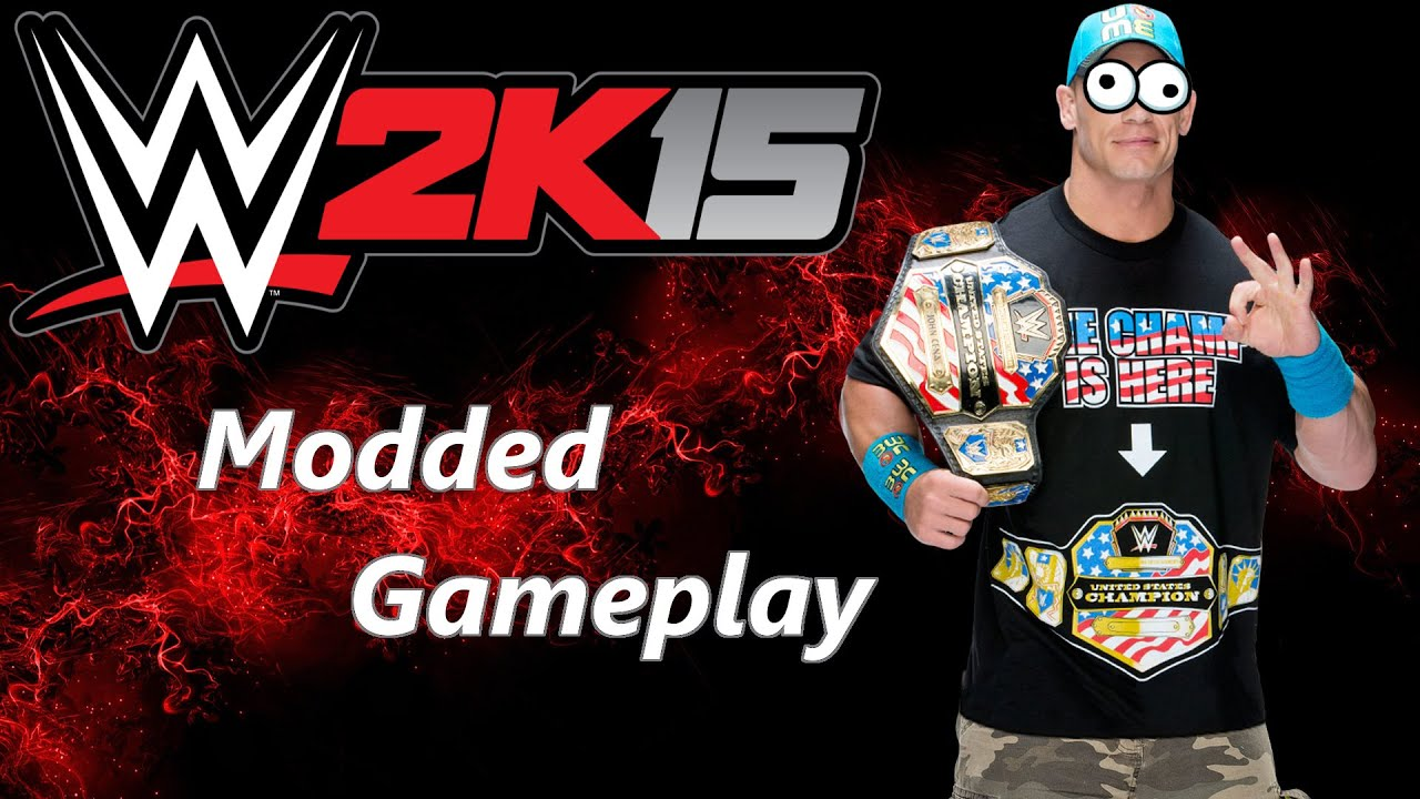 Wwe 2k15 gameplay 60 fps webcam