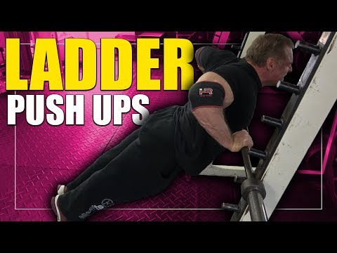 Exercise Index – Ladder Push Ups