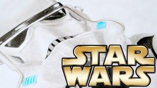 Как нарисовать штурмовика   Звездные войны - Изгой Один  