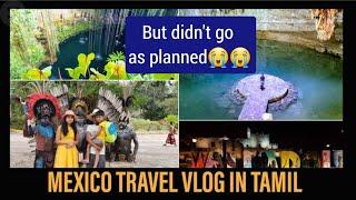 Mexico travel vlog part 1|Canada Tamil vlog|international trip|car broke down on highways
