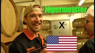 AMERICAN visits JÄGERMEISTER FACTORY in GERMANY!