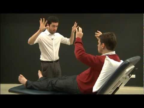 Conducting a Neurological Examination in English