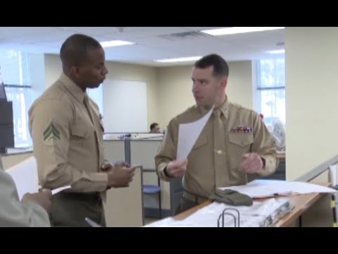 Marine Corps Administration Sections at Work