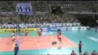 ワールドリーグ 2008 日本vsポーランド 第5セット