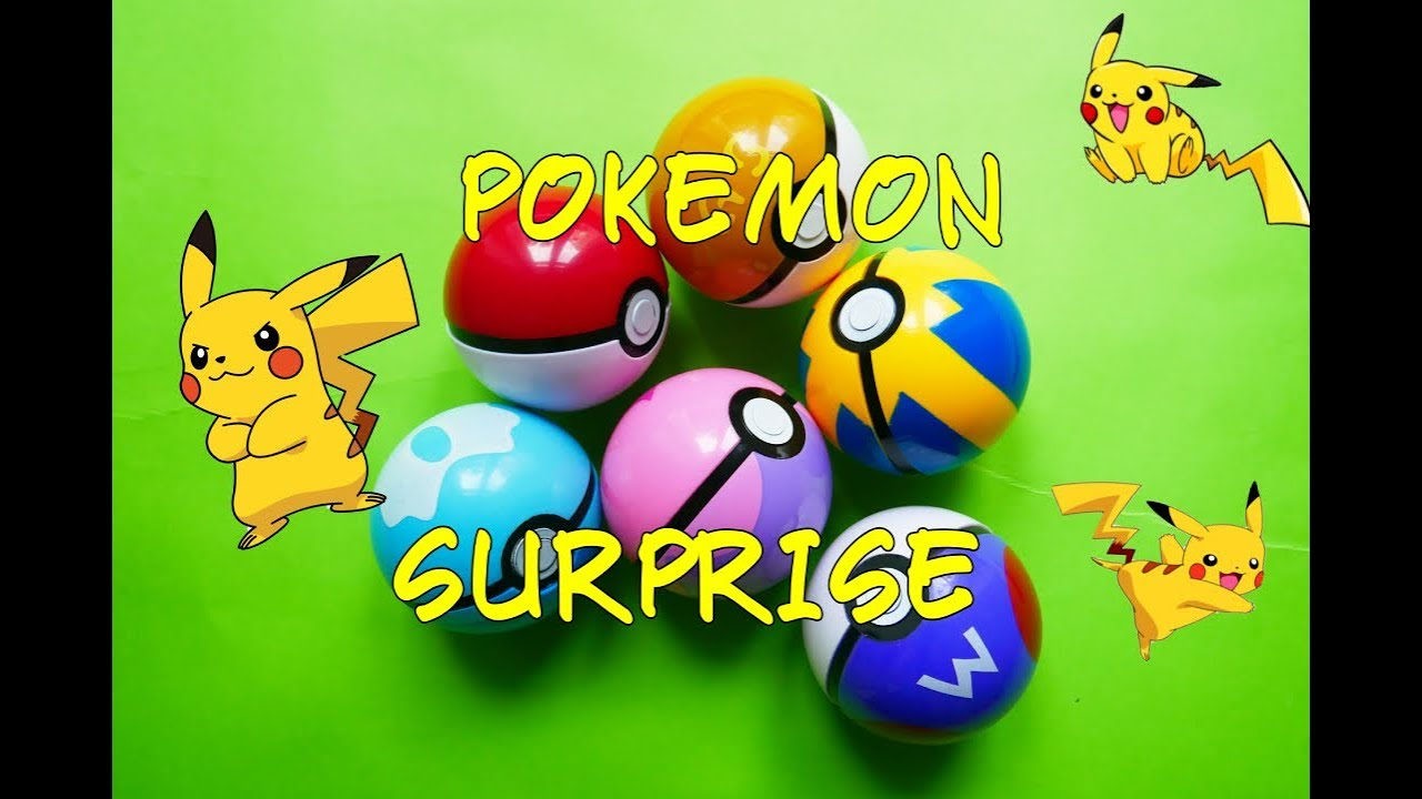 BIG POKEMON SURPRISE Unboxing Surprise Eggs with Pokemons from AliExpress