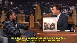Kendrick Lamar fala sobre Michael Jackson (Legendado)