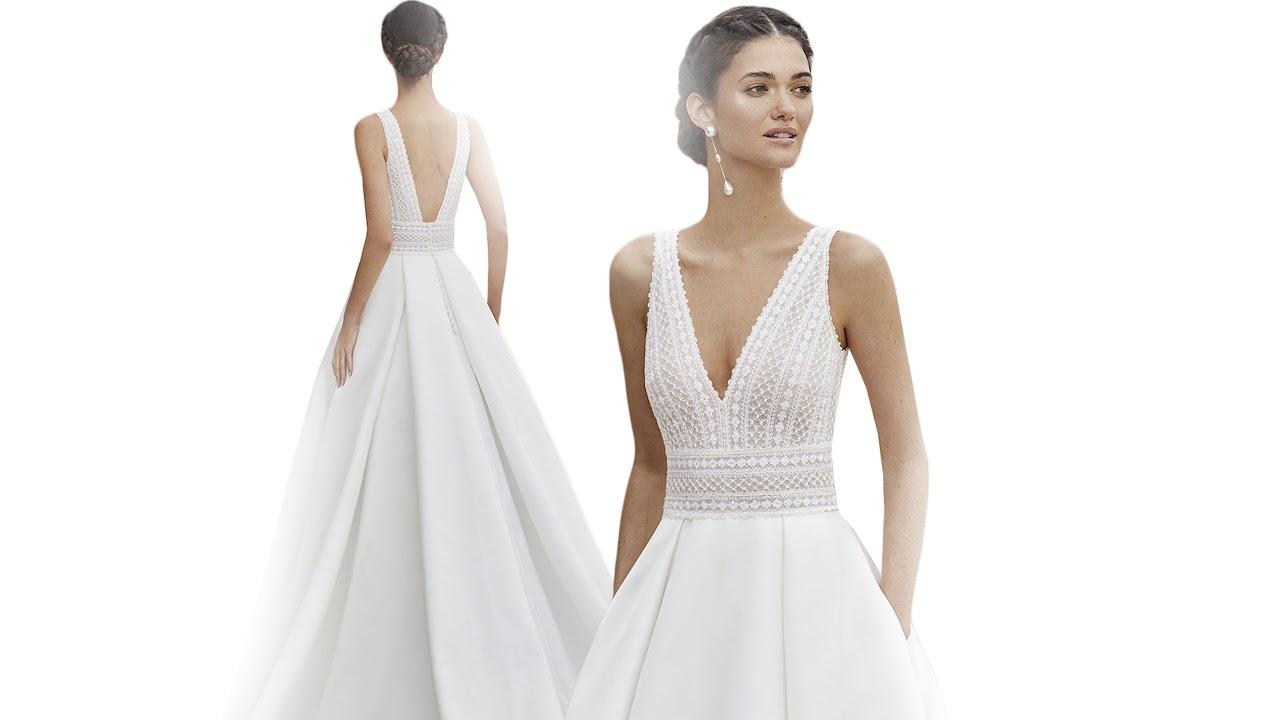 Abiti Da Sposa Rosa Clara.Rosa Clara Couture 2020 Abiti Da Sposa Youtube