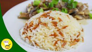ŞEHRİYELİ PİRİNÇ PİLAVI Tane tane pirinç pilavı nasıl yapılır? Canandan Tarifler