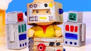 Caillou et les Robots | Caillou en Français