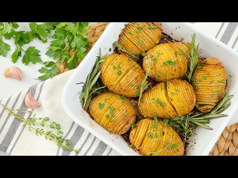 Hasselback Potatos 3 Delicious Ways | The BEST Side Dish!!!
