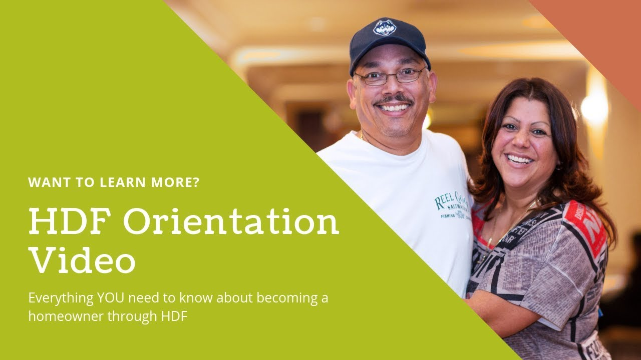 First-Time Homebuyers Downpayment Assistance and Counseling- HDF