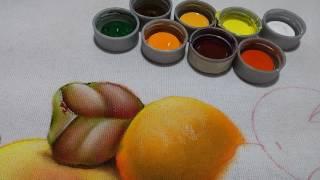 Peras laranjas e folhas – Aula 4  – Cristina Ribeiro