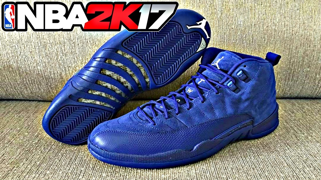 2d6d34c818860f NBA 2K17 Shoe Creator Air Jordan Retro 12 Premium