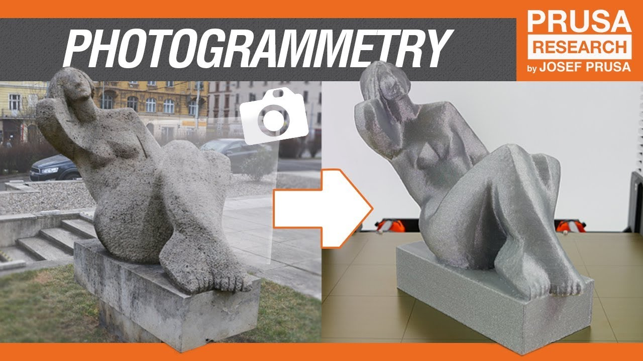 Photogrammetry - 3D scan with just your phone/camera
