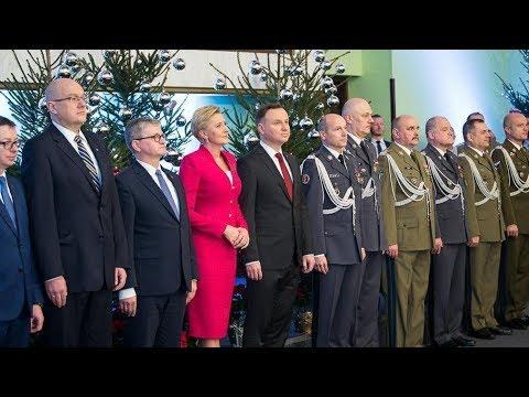 Prezydent na żołnierskiej Wigilii