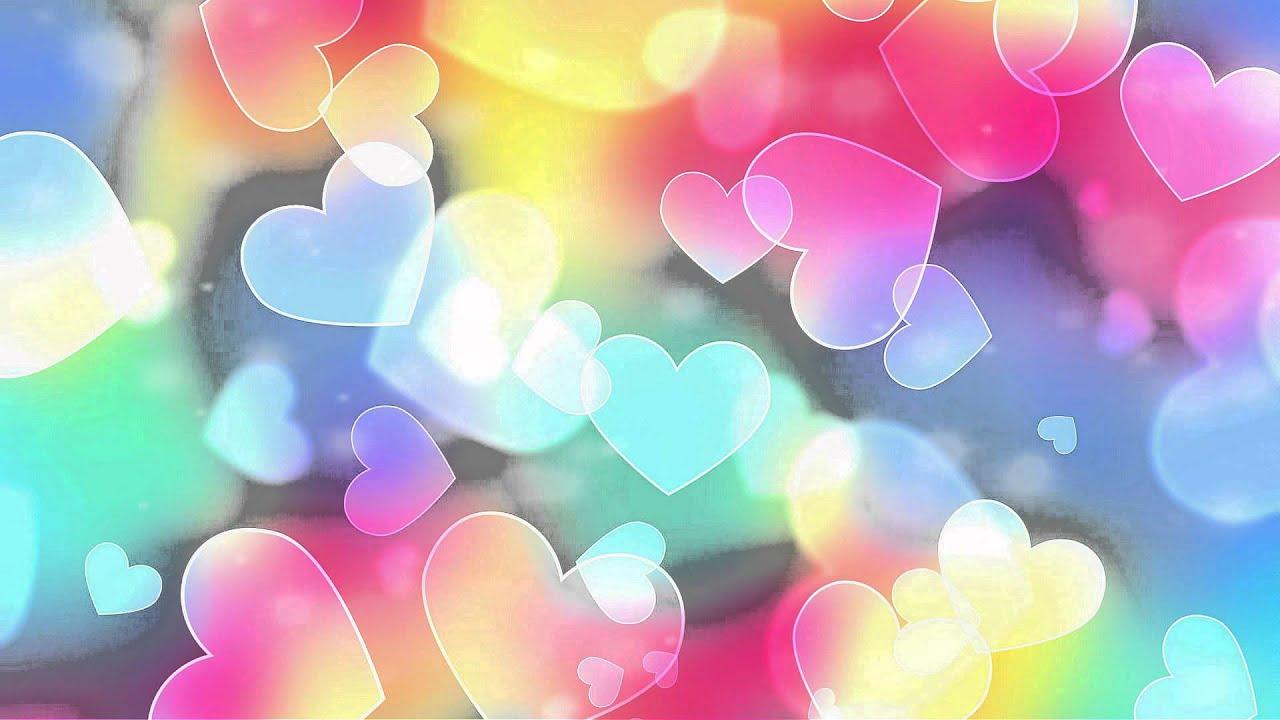 3d Colourful Wallpaper Футаж Романтический фон для текста Youtube