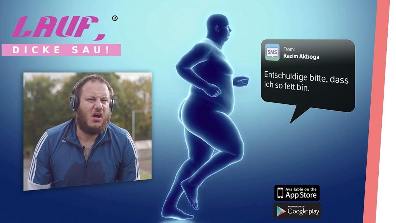 Lauf dicke Sau – Die ehrliche Fitness App