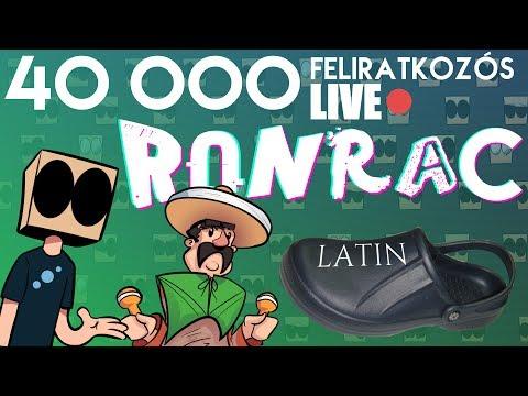 Videó rajzolós 40 000-es ultra király stream w./Walrusz und Latinpapucs | Ronrac #1
