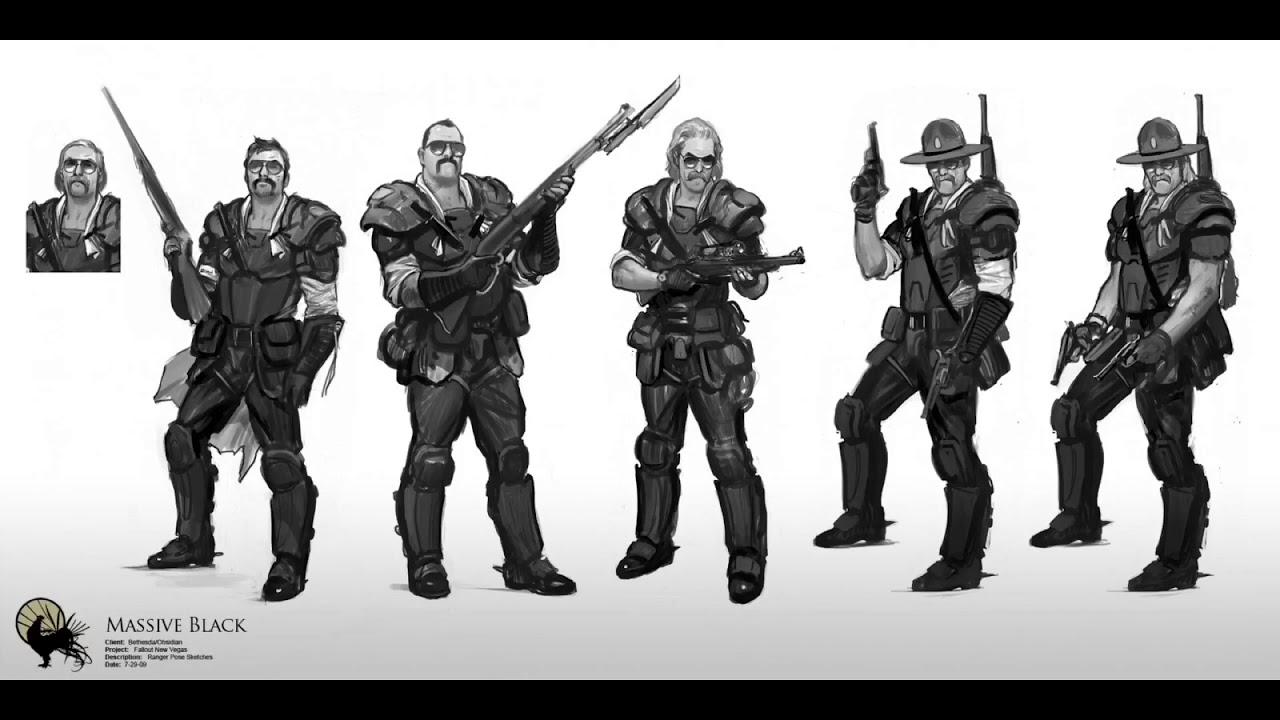 Fallout New Vegas Concept Art