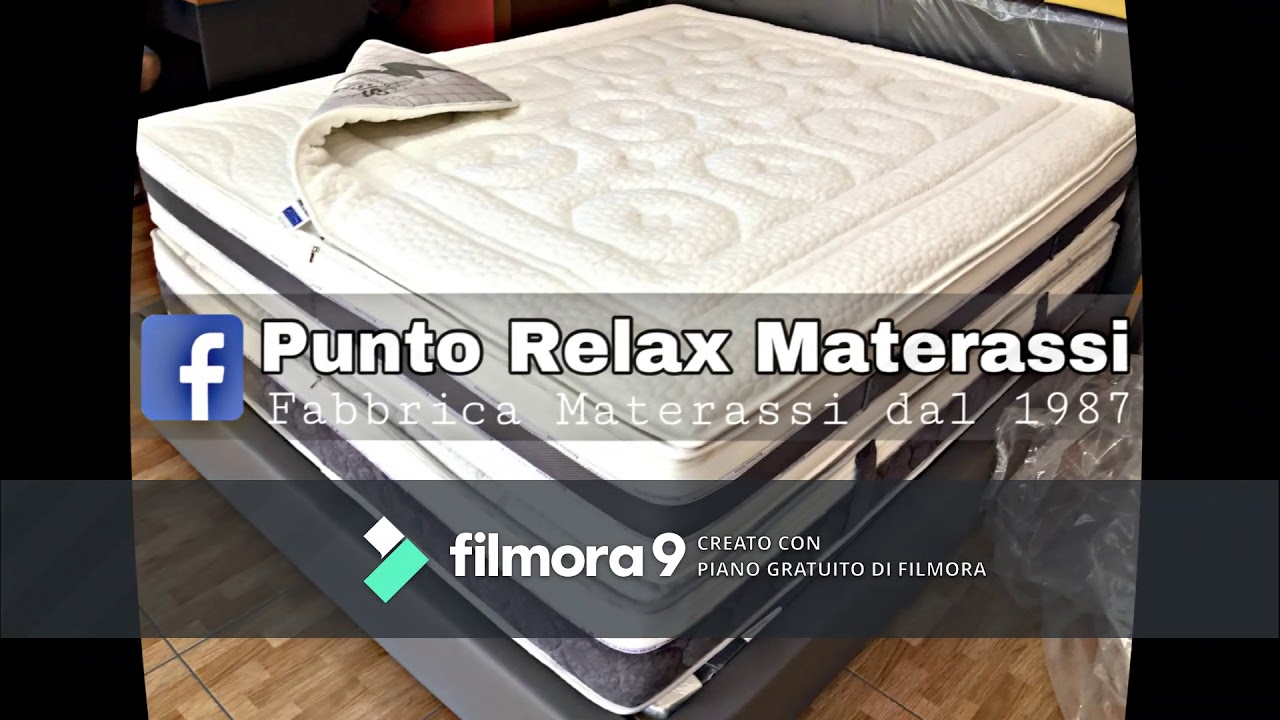 Materassi Relax.Punto Relax Materassi Youtube