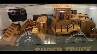 Super Truck Scraper Construction Front Loader Unboxing