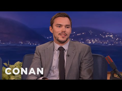 Nicholas Hoult: James McAvoy Punched Me In The Junk   CONAN on TBS