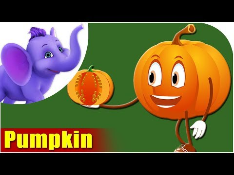 Kaddu (Pumpkin) - Vegetable Rhymes in Hindi