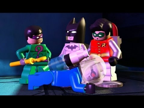 LEGO Batman 100% Guide - Episode 1-2 - An Icy Reception (All Minikits/Red Brick/Hostage)