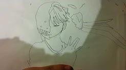 Manga zeichnen (Elfenlied)