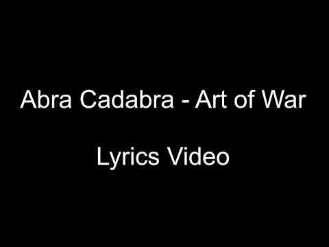 LYRICS   Abra Cadabra - Art Of War