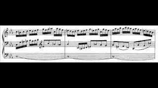 J.S. Bach - BWV 526 (1) - Sonata II - Vivace c-moll / C minor