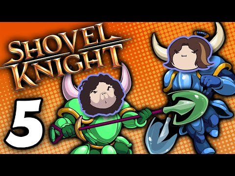 Shovel Knight Co-Op: Strike the Earth! - PART 5 - Game Grumps