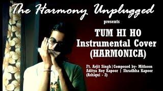 TUM HI HO    Ft. Arijit Singh    Ashiqui -2    Instrumental Cover (Harmonica)    by Basab