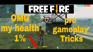 FREE FIRE (gameplay how to survive and win 1st)
