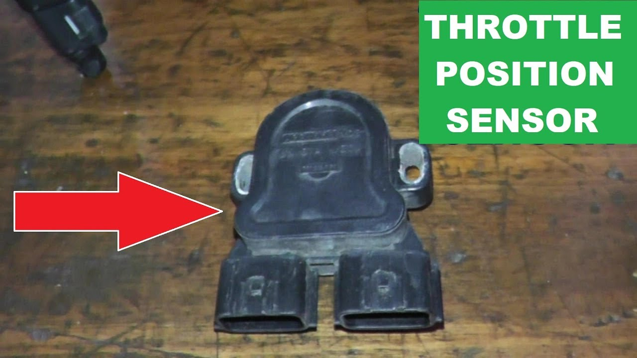 How To Replace and Adjust the Throttle Position Sensor  YouTube