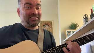 Standing in the Doorway guitar lesson