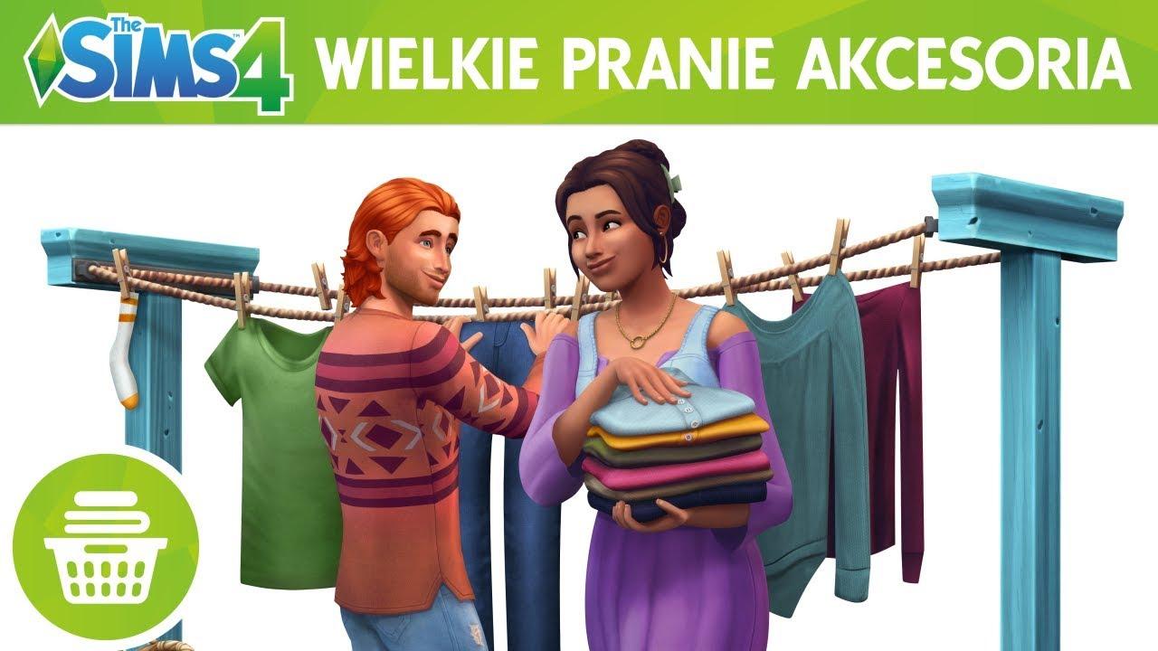 The Sims 4 Wielkie pranie Akcesoria: oficjalny zwiastun