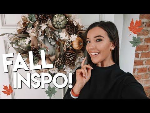 FALL HOME DECOR & DINNER RECIPE!   FALL INSPIRATION 2018