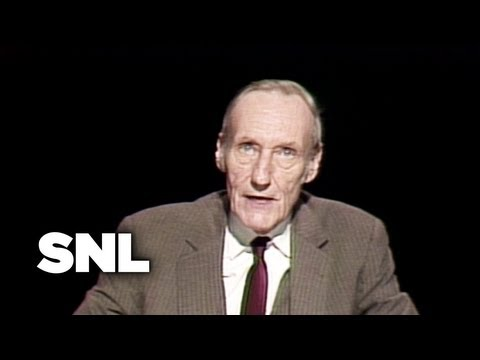 Guest Performer: William S. Burroughs - Saturday Night Live