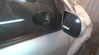 Как снять зеркало заднего вида. Mazda MPV.